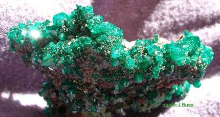 Dioptase, Copper Cyclosilicate