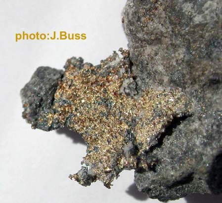 Konigsbergite, or natural Mercury-Silver Amalgam