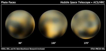 Pluto by Hubble