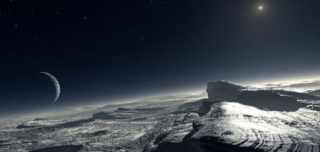 The View from Pluto