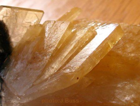 Golden Barite (Barium Sulfate)